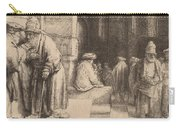 Jews In The Synagogue Carry-all Pouch