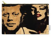 Jfk And Marilyn Carry-all Pouch