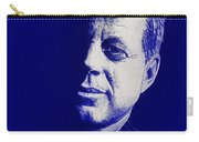 Jfk - Blue Carry-all Pouch