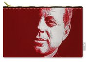 Jfk - Red Carry-all Pouch
