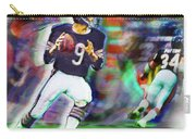 Jim Mcmahon With Walter Payton Chicago Bears Carry-all Pouch