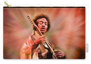 Jimi Hendrix Electrifying Guitar Play Carry-all Pouch