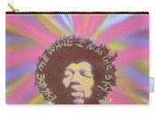 Jimi Hendrix Pastel Carry-all Pouch