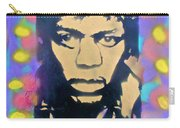 Jimi Hendrix Squared Carry-all Pouch