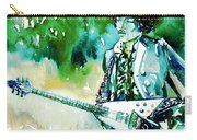 Jimi Hendrix With Guitar Carry-all Pouch