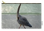 Strutting The Beach Carry-all Pouch