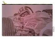 Jo Siffert And His Brabham Bt11 Carry-all Pouch