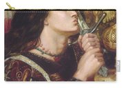 Joan Of Arc Kisses The Sword Of Liberation Carry-all Pouch