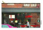 Joblo Restaurant Steakhouse Rue Wellington Verdun Montreal Cafe City Scenes Carole Spandau Carry-all Pouch