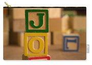 Joe - Alphabet Blocks Carry-all Pouch