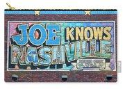 Joe Knows Nashville Carry-all Pouch