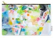 Joe Strummer - Watercolor Portrait Carry-all Pouch