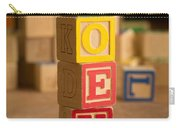 Joey - Alphabet Blocks Carry-all Pouch