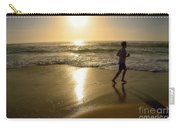 Jogging At Sunrise By Kaye Menner Carry-all Pouch
