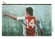 Johan Cruijff Nr 14 Painting Carry-all Pouch