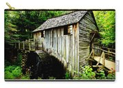 John Cable Grist Mill - Poster Carry-all Pouch