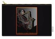 John Coltrane Jazz Saxophone Legend Carry-all Pouch
