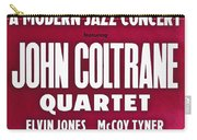 John Coltrane Quartet In Sweden Carry-all Pouch