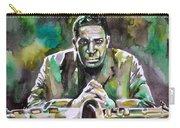 John Coltrane - Watercolor Portrait Carry-all Pouch