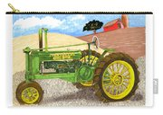 John Deere At Rest Carry-all Pouch by Jack Pumphrey