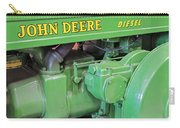 John Deere Diesel Carry-all Pouch by Susan Candelario