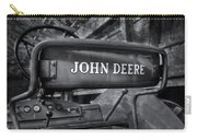 John Deere Tractor Bw Carry-all Pouch by Susan Candelario