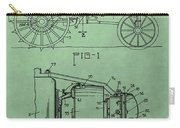 John Deere Tractor Patent Carry-all Pouch