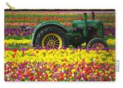 John Deere Tulips Carry-all Pouch