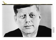 John F. Kennedy Carry-all Pouch by Benjamin Yeager