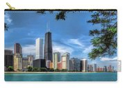 John Hancock Chicago Skyline Panorama Carry-all Pouch