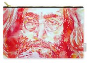 John Lennon With Rose Carry-all Pouch