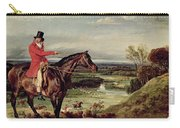 John Levett Hunting In The Park At Wychnor Carry-all Pouch