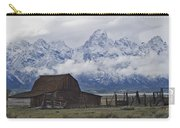 John Moulton Barn Grand Teton National Park Wyoming Carry-all Pouch