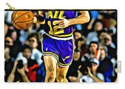 John Stockton Portrait Carry-all Pouch