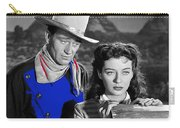 John Wayne Gail Russell Angel And The Badman  Publicity Photo 1947-2012 Carry-all Pouch