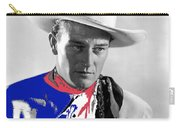 John Wayne Publicity Photo Overland Stage Raiders 1938 Carry-all Pouch