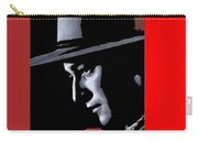 John Wayne Ringo Kid Portrait Stagecoach 1939-2013 Carry-all Pouch