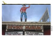 John Wayne Shuttered Cowboy Museum Close-up Tombstone Arizona 2004 Carry-all Pouch