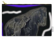 John Wayne The Horse Soldiers Homage #2 1959 C.1880 Carry-all Pouch