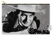 John Wayne Two-fisted Law  1932 Publicity Photo Carry-all Pouch