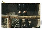 Johnny Cash Gunfighter Hitching Post Old Tucson Arizona 1971 Carry-all Pouch