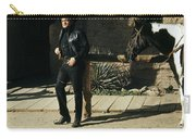 Johnny Cash Horse Old Tucson Arizona 1971 Carry-all Pouch