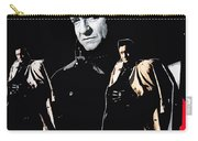 Johnny Cash Multiples  Trench Coat Sitting Collage 1971-2008 Carry-all Pouch