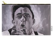 Johnny Cash Portrait Carry-all Pouch