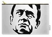 Johnny Cash Poster Art Portrait Carry-all Pouch