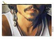 Johnny Depp Artwork Carry-all Pouch