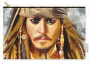 Johnny Depp Jack Sparrow Actor Carry-all Pouch