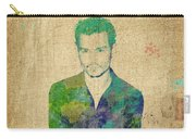 Johnny Depp Watercolor Carry-all Pouch