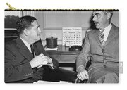 Johnson And Dean Acheson Talk Carry-all Pouch