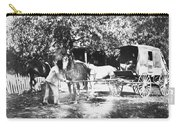 Johnston Horse Wagon Carry-all Pouch